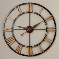 "Rosalind Wheeler Oversized 45"" Cologne Wall Clock ..."