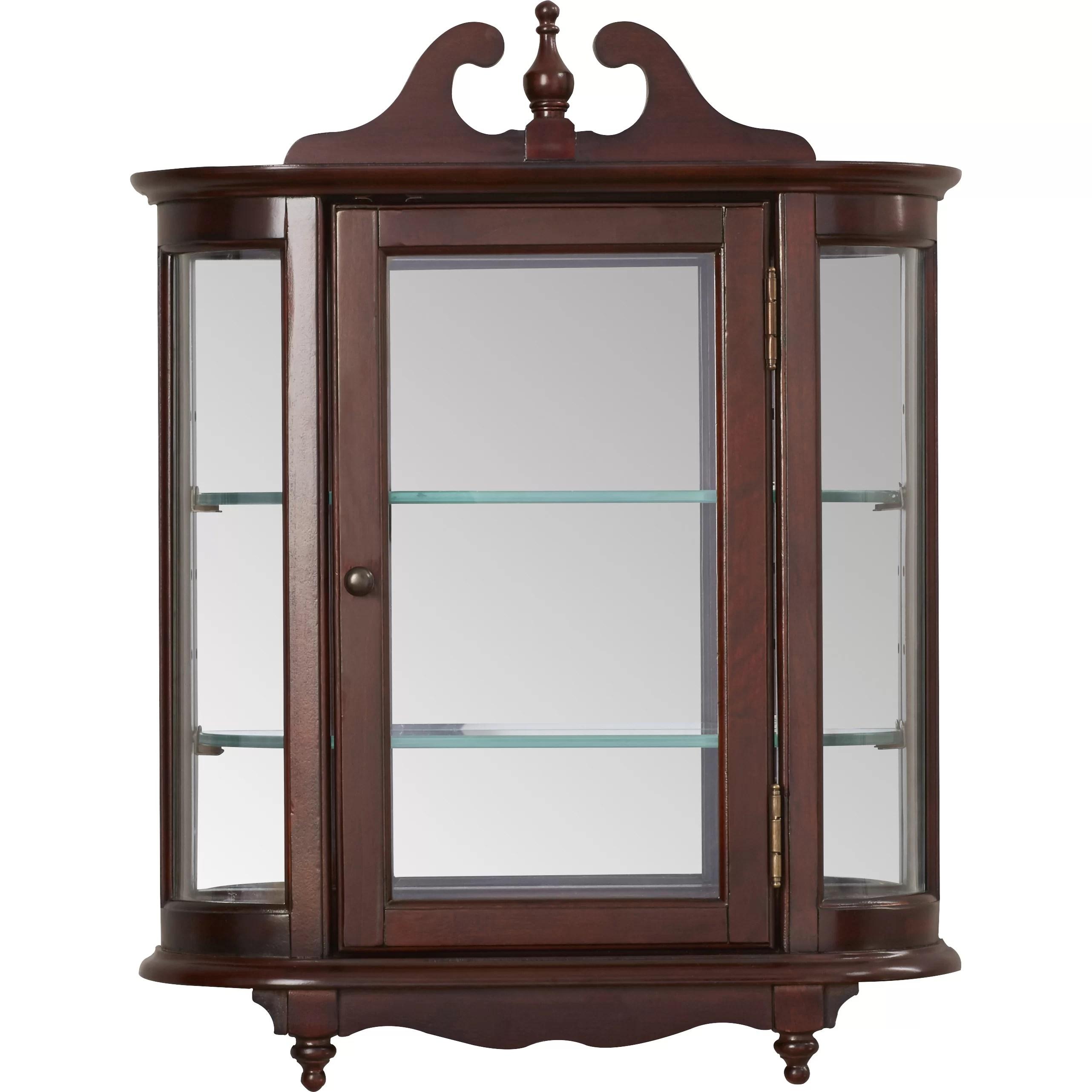 Wall Curio Cabinets