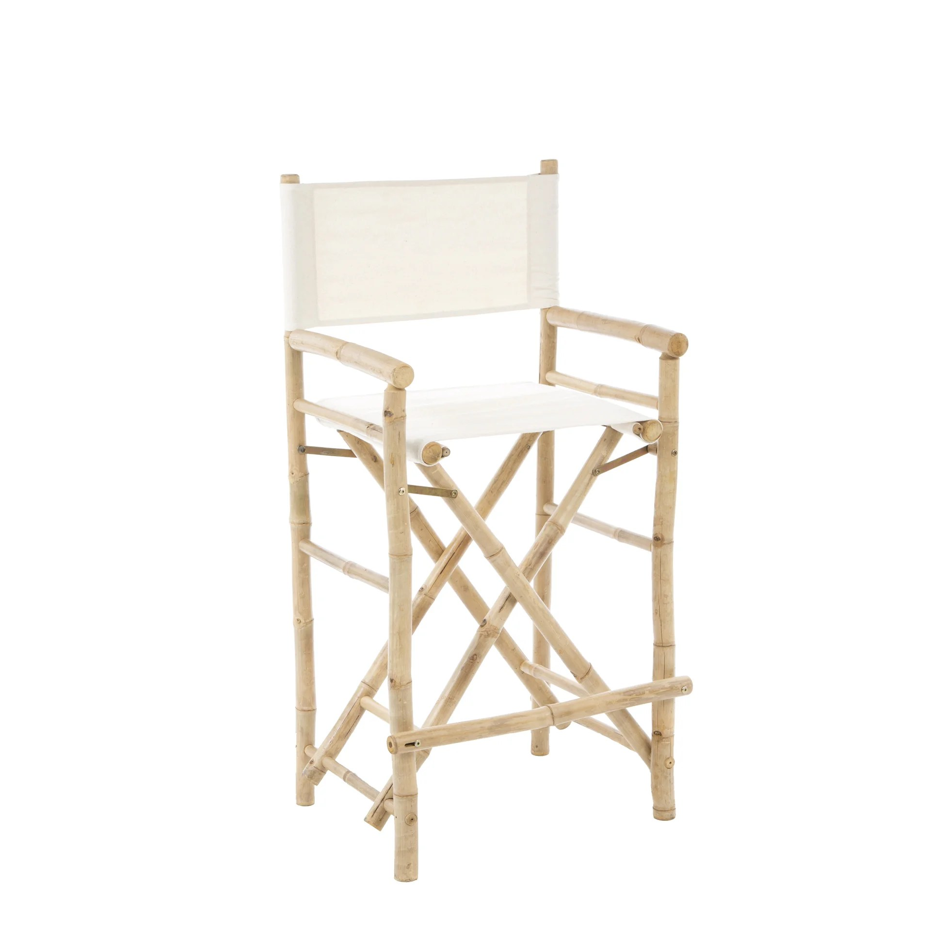 bamboo directors chairs wooden arm chair bay isle home porter high back canvas director