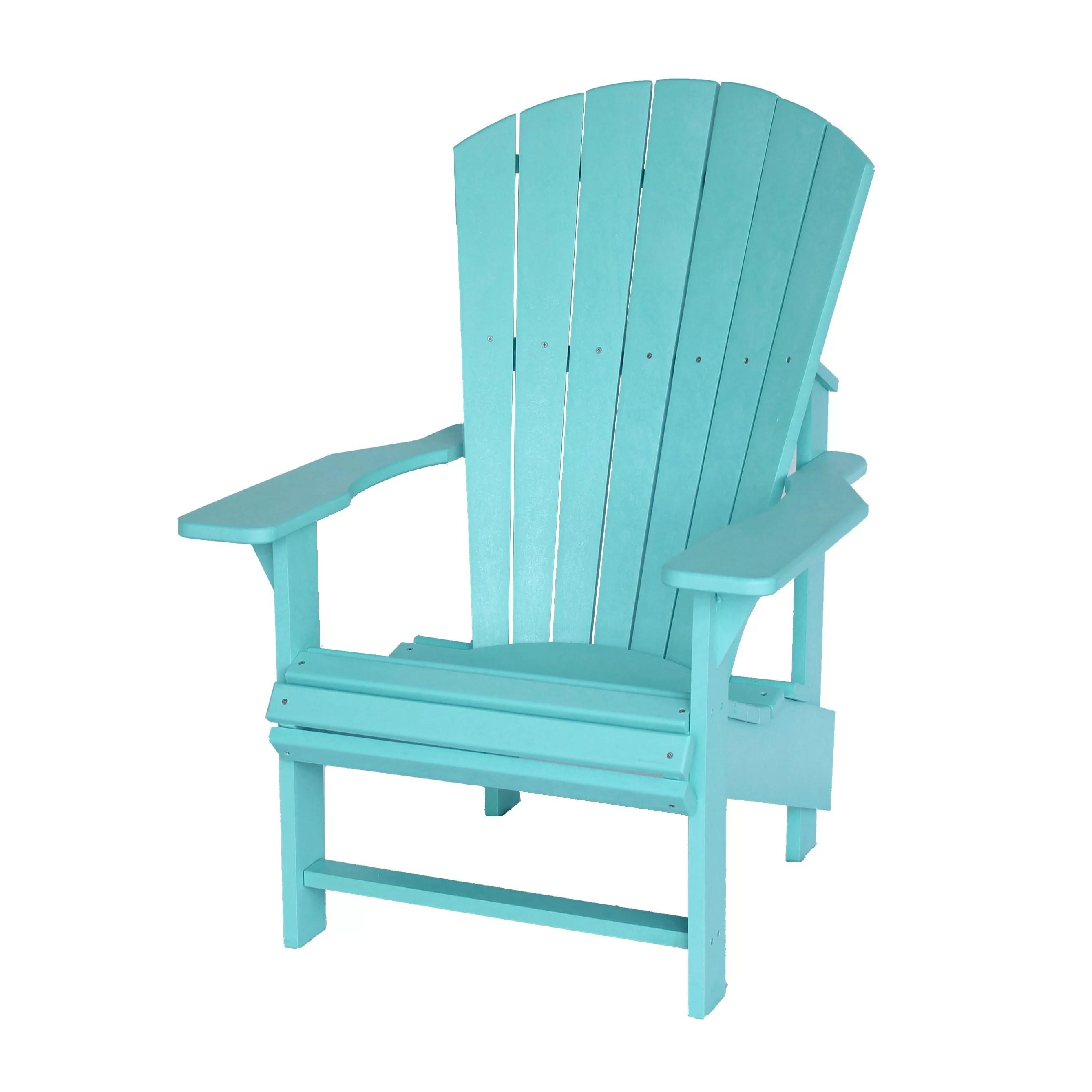 upright recliner chairs fishing chair umbrella clamp bay isle home trinidad adirondack and reviews