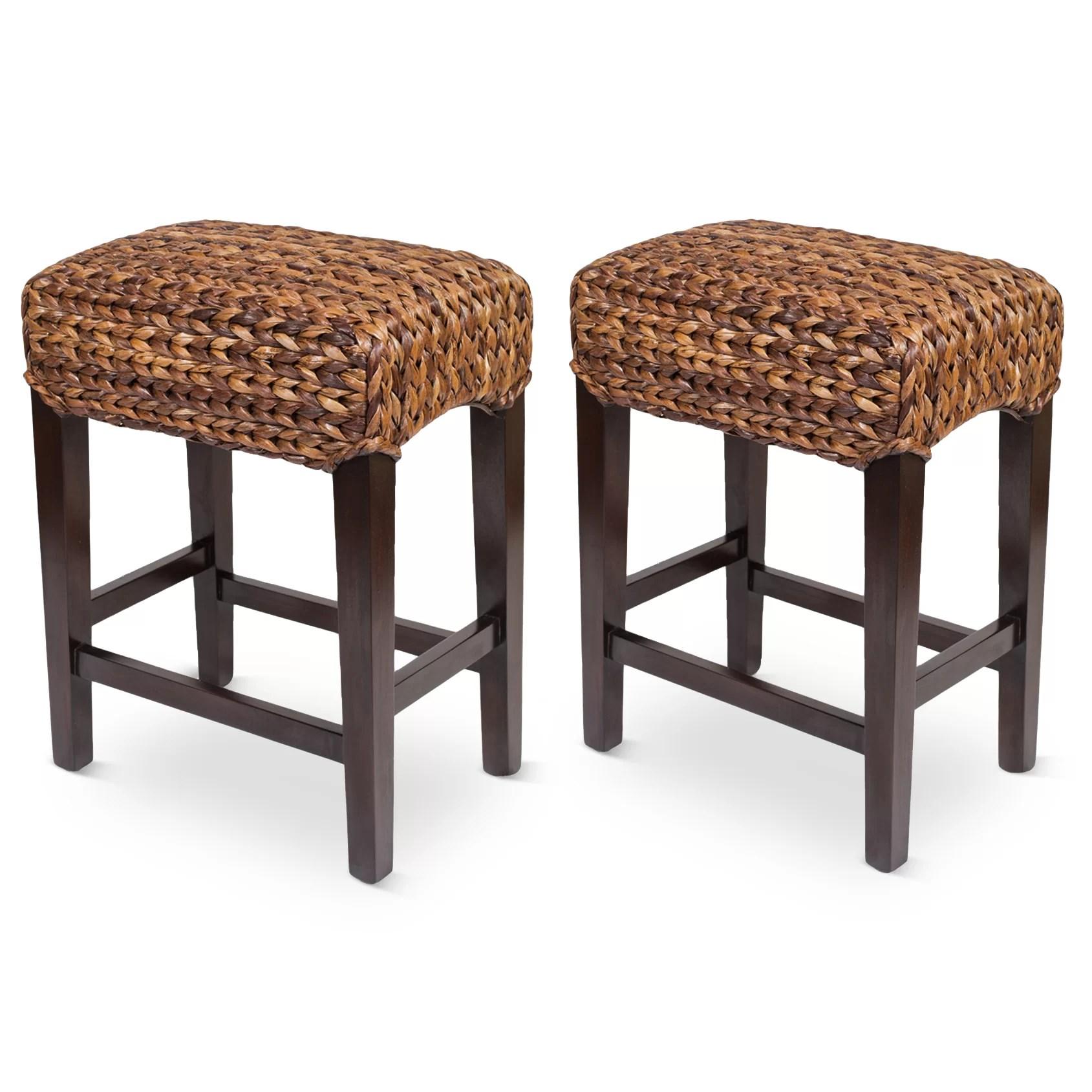 wayfair kitchen stools sink faucets lowes bay isle home kalavasos 25 quot bar stool and reviews