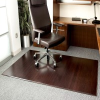 Symple Stuff Beveled Bamboo Office Chairmat & Reviews ...