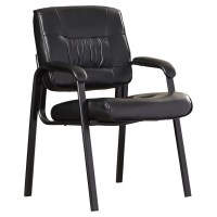 Symple Stuff Leather Blend Guest Chair & Reviews