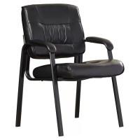 Symple Stuff Leather Blend Guest Chair & Reviews | Wayfair