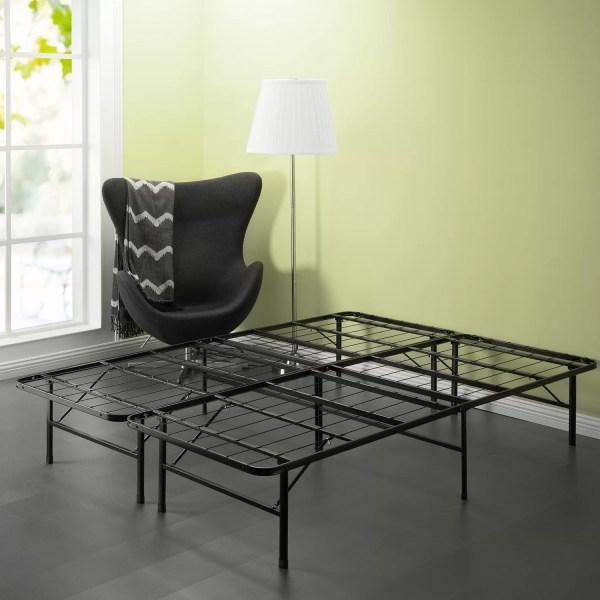 Symple Stuff Mattress Foundation Platform Bed Frame &