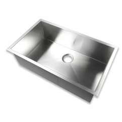 Stainless Steel Kitchen Sink Reviews Custom Hoods Luxier 32 Quot X 19 Undermount Single Bowl 16 Gauge