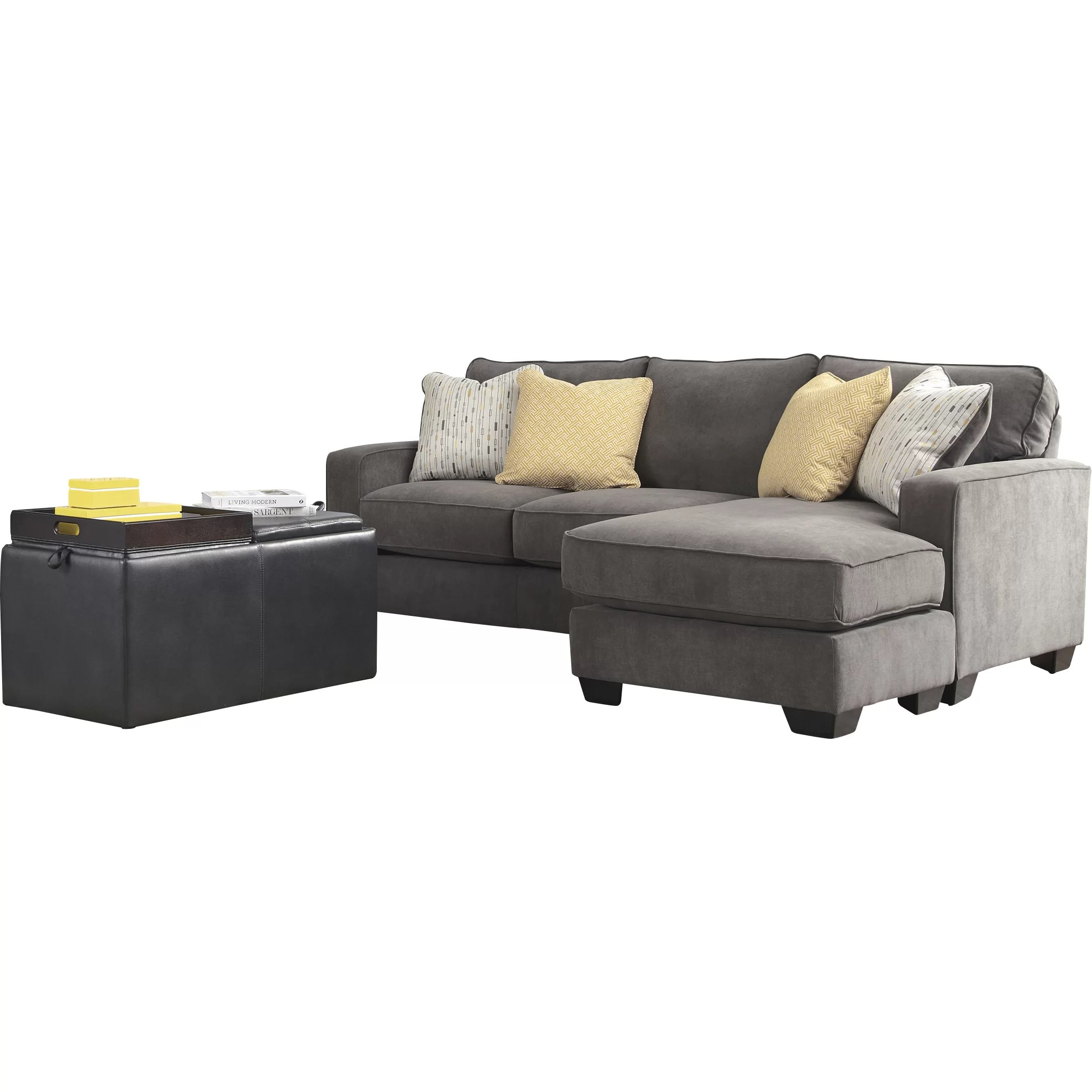 reversible sectional sofas with chaise l shaped sofa 2 recliners mercer41 kessel and reviews
