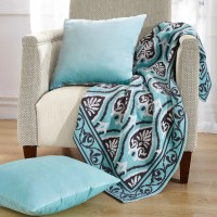 BOON Throw & Blanket Neapoli Knitted EZ Matching Throw ...