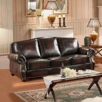Amax Vail 3 Piece Leather Living Room Set | Wayfair