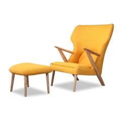 Modern Lounge Chair And Ottoman Set Rocking A Half Kardiel Cub Mid Century