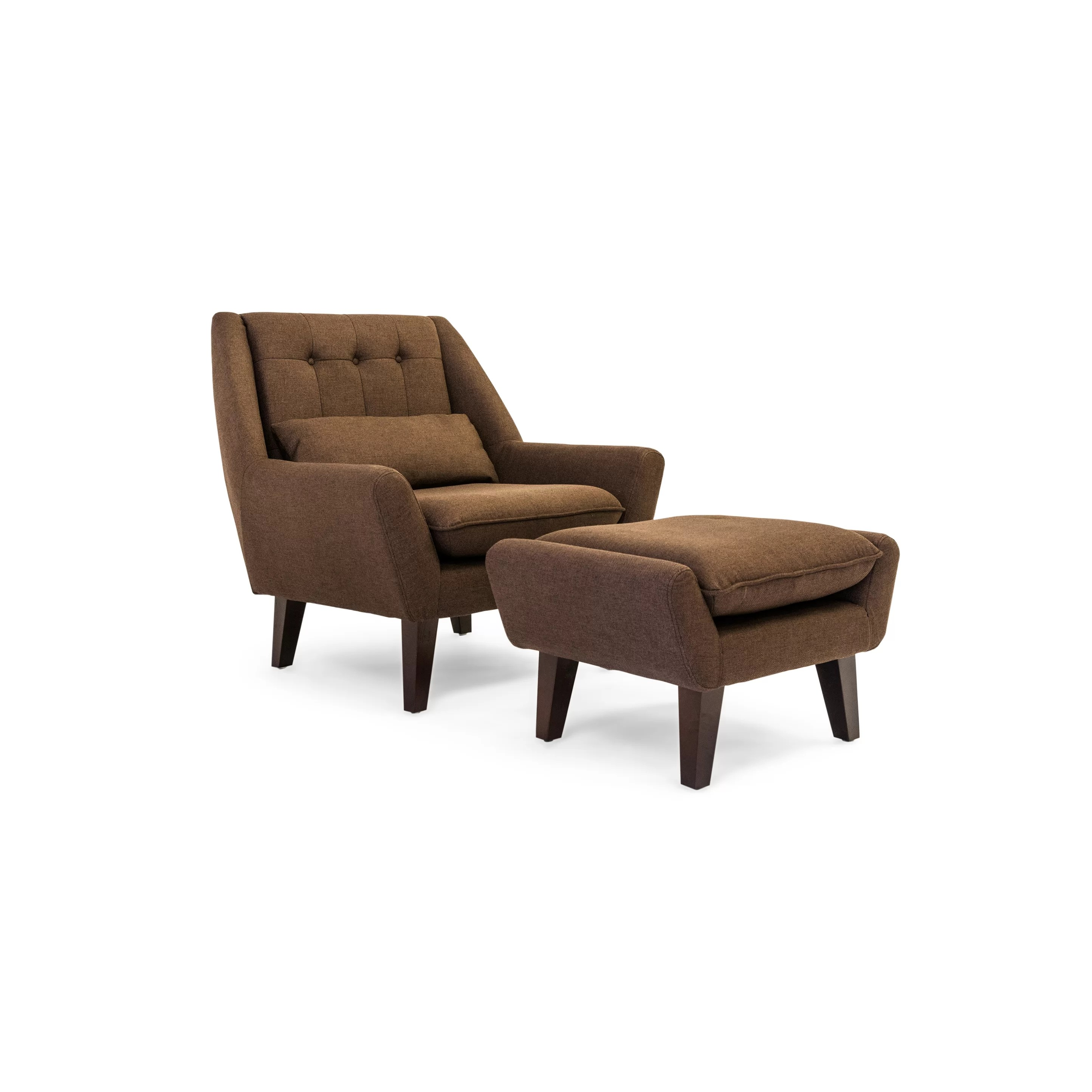 Kardiel Stuart Lounge Chair and Ottoman  Wayfair