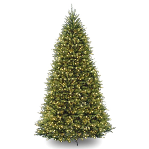 Holiday Aisle Fir 10' Hinged Green Artificial Christmas Tree With 1200 Clear Lights