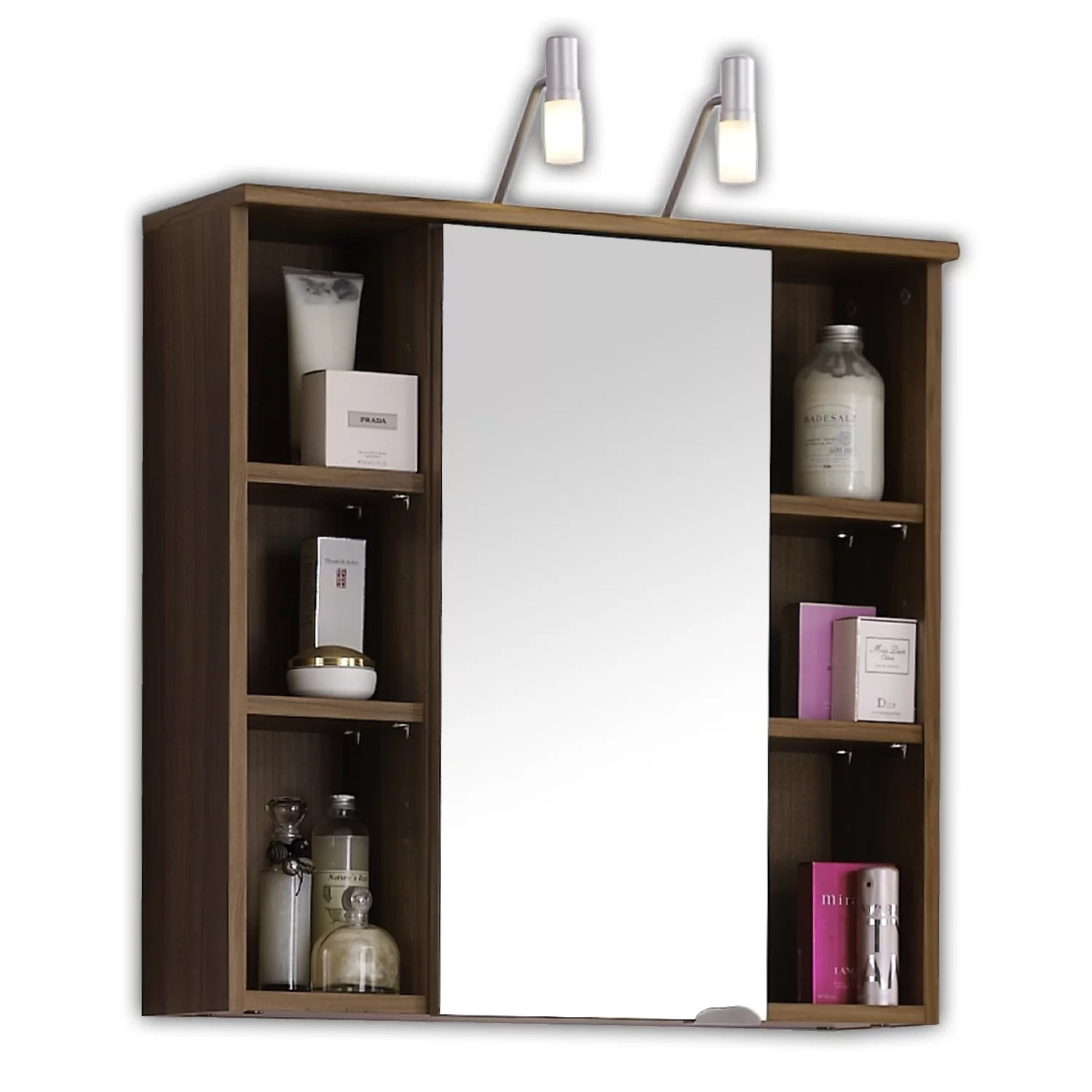 Belfry 68cm x 71cm Surface Mount Flat Mirror Cabinet  Wayfair UK