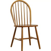 Andover Mills Maguire Solid Rubberwood Dining Chair ...