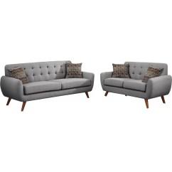Modern Retro Sofa And Loveseat Murphy Bed Over Combo Infini Furnishings