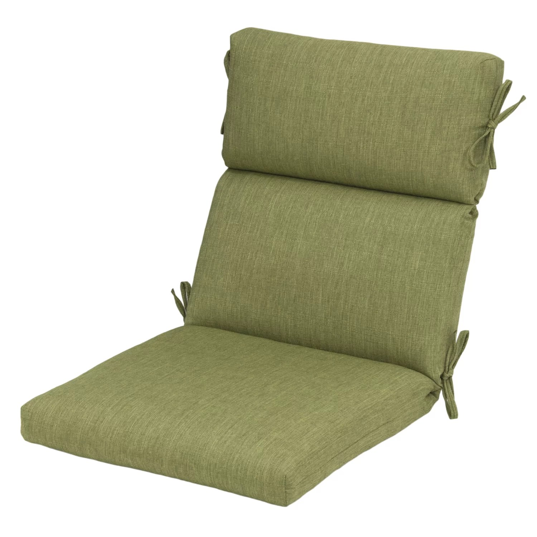 Plantation Patterns Outdoor High Back Chair Cushion