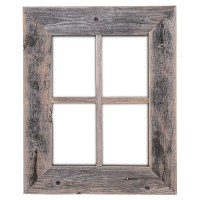 RusticDecor Old Rustic Barn Window Frame & Reviews | Wayfair