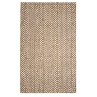 The Conestoga Trading Co. Hines Hand-Woven Brown/White ...