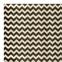 Ruggable Black and White Area Rug