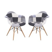 LeisureMod Willow Eiffel Accent Chair & Reviews | Wayfair