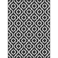 Threadbind Brookville Black/White Area Rug & Reviews