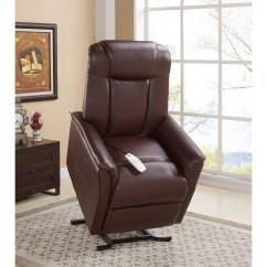 Infinite Position Recliner Power Lift Chair Yellow Plastic Adirondack Serta Chairs Sx 592c Tyson Cognac
