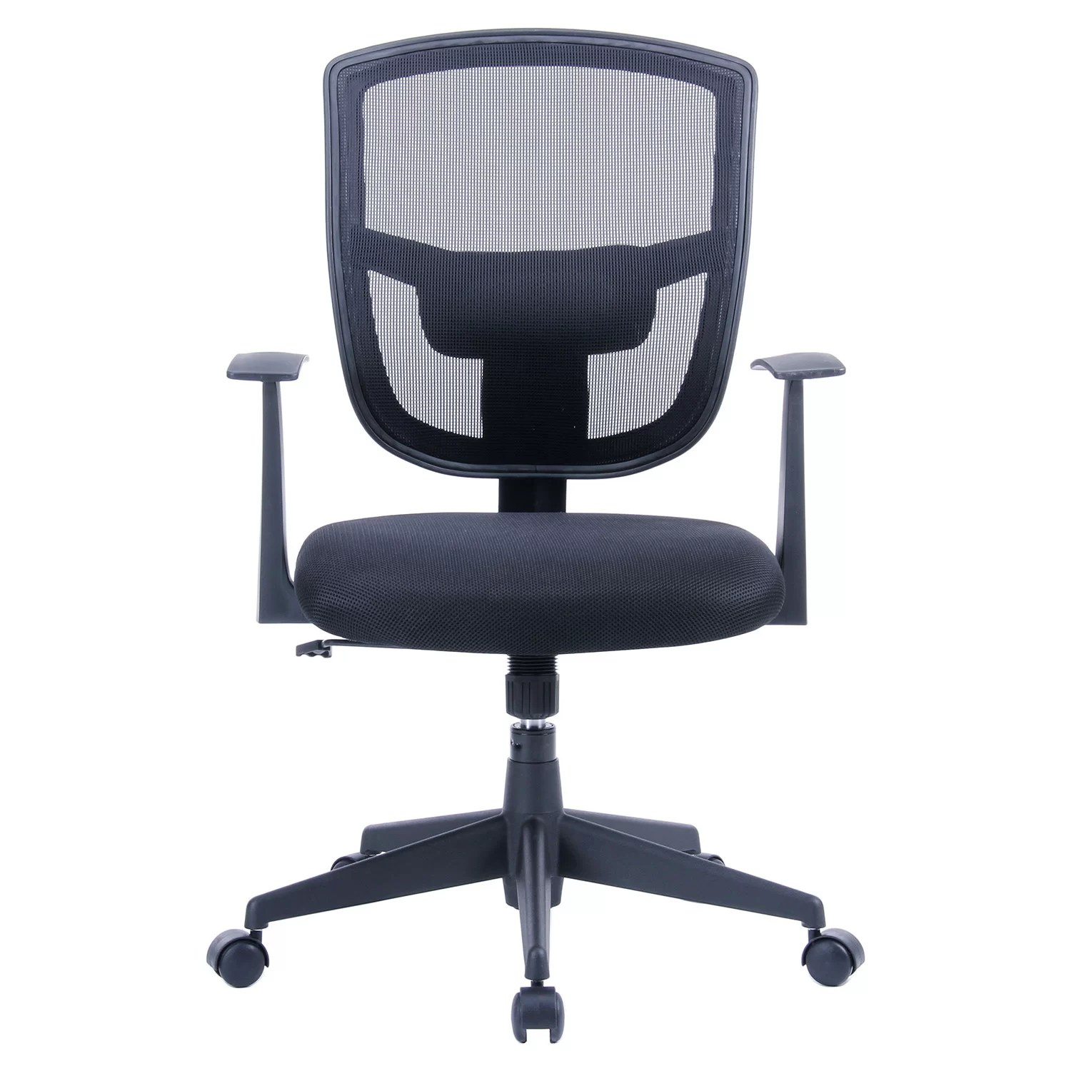 Office Chair With Arms Porthos Home Darius 35 8 Quot Mid Back Mesh Office Chair With