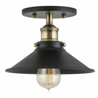 Linea di Liara Andante 1 Light Semi-Flush Mount & Reviews ...