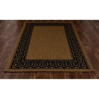 Art Carpet Plymouth Brown/Black Indoor/Outdoor Area Rug ...