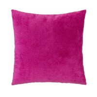 Grouchy Goose Magenta Velvet Square Pillow & Reviews | Wayfair