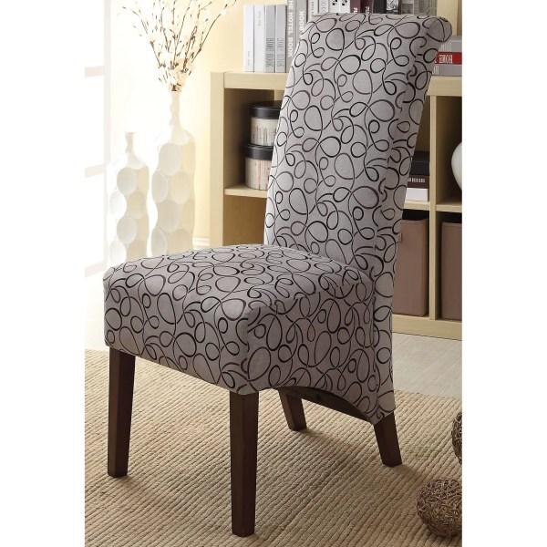 Fabric Parson Chairs