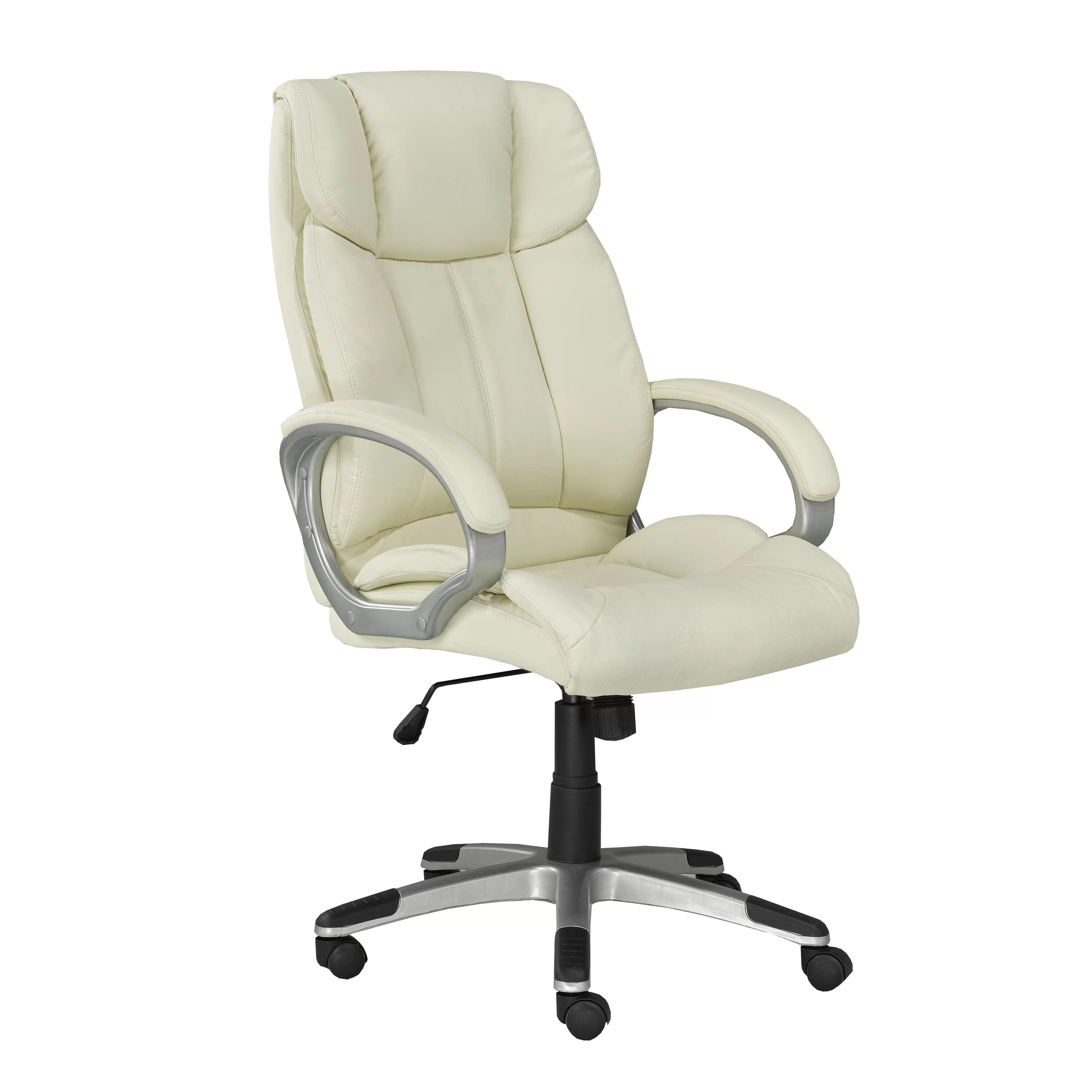 office chair review round folding lawn chairs brassex high back executive and reviews wayfair