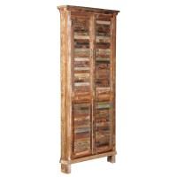 TaranDesigns Aiden Tall Shutter Corner Cabinet | Wayfair