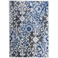 Super Area Rugs Artifact Gray/Blue Area Rug & Reviews ...