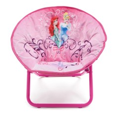 Saucer Chair For Kids Diy Dining Room Chairs Deltachildren Princess Children 39s Wayfair Uk