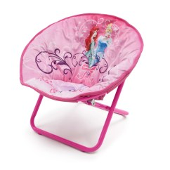 Saucer Chair For Kids Toddler Plastic Chairs Deltachildren Princess Children 39s Wayfair Uk