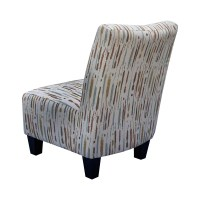 GraftonHome Spattered Armless Accent Chair | Wayfair.ca