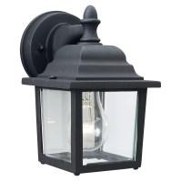 Thomas Lighting Essentials 1 Light Outdoor Wall Lantern ...