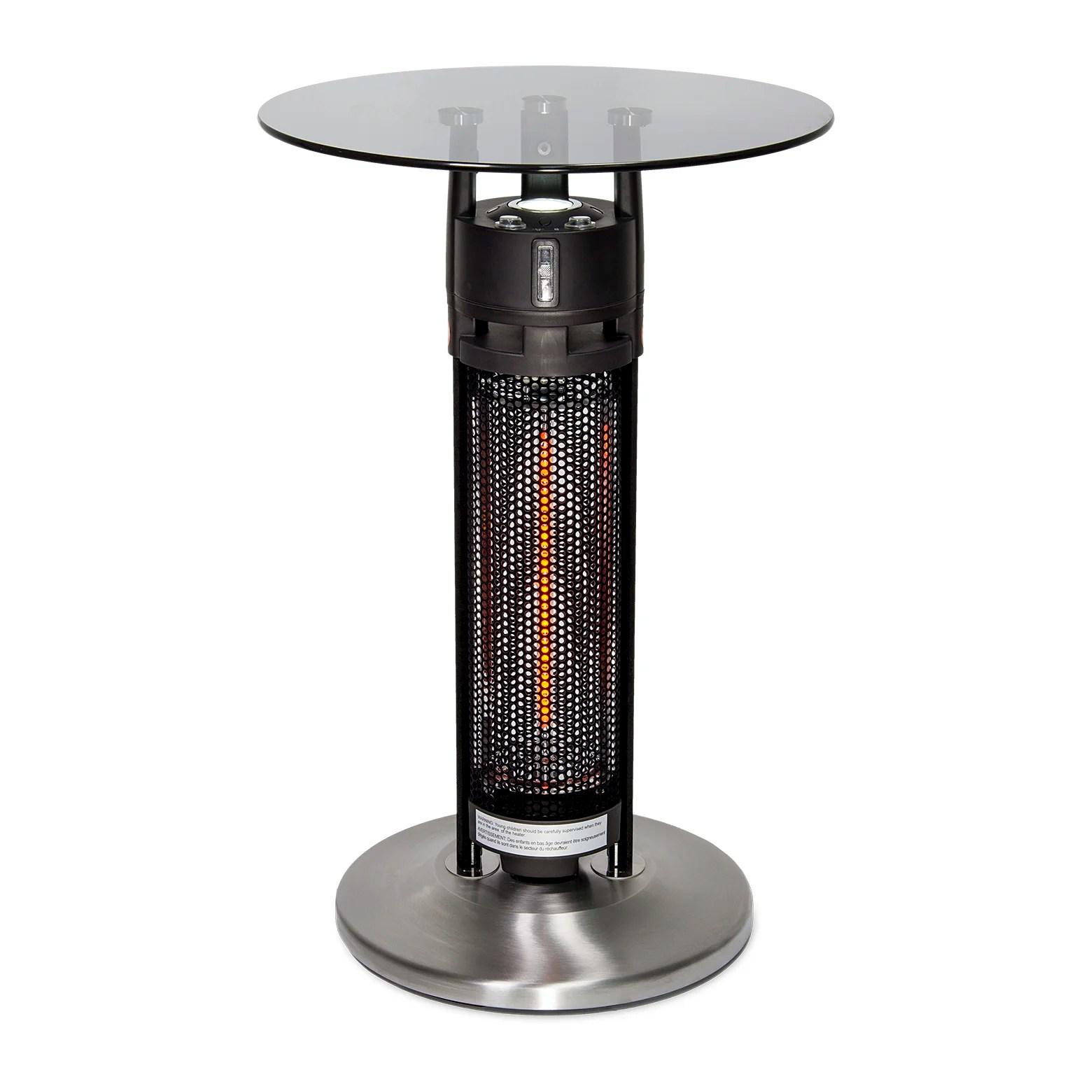 GreenTech Environmental PureHeat Table Electric Patio