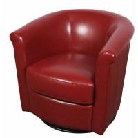 Porter International Designs Marvel Swivel Barrel Chair ...