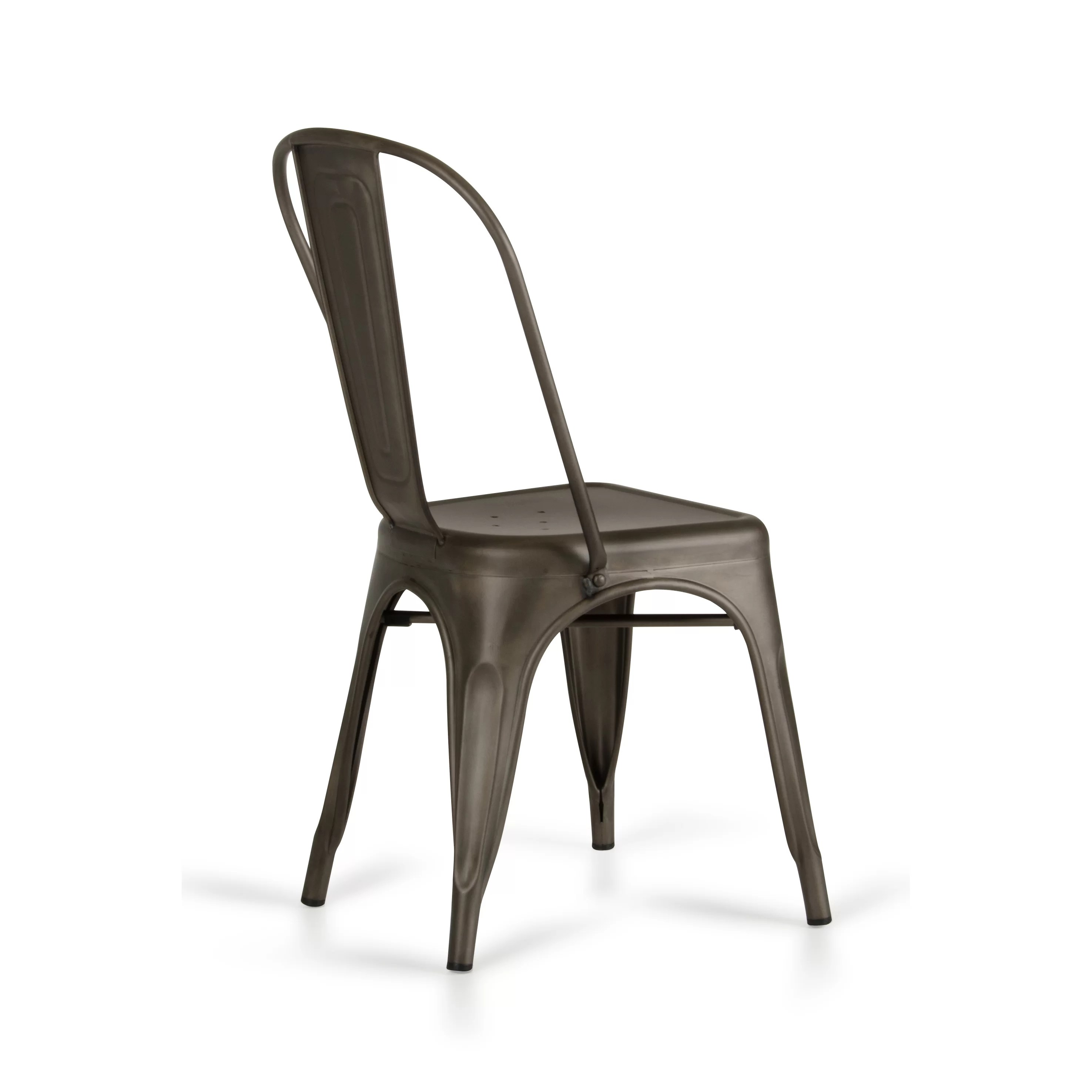 metal farmhouse chairs compact camping chair laurel foundry modern drummond rust dining