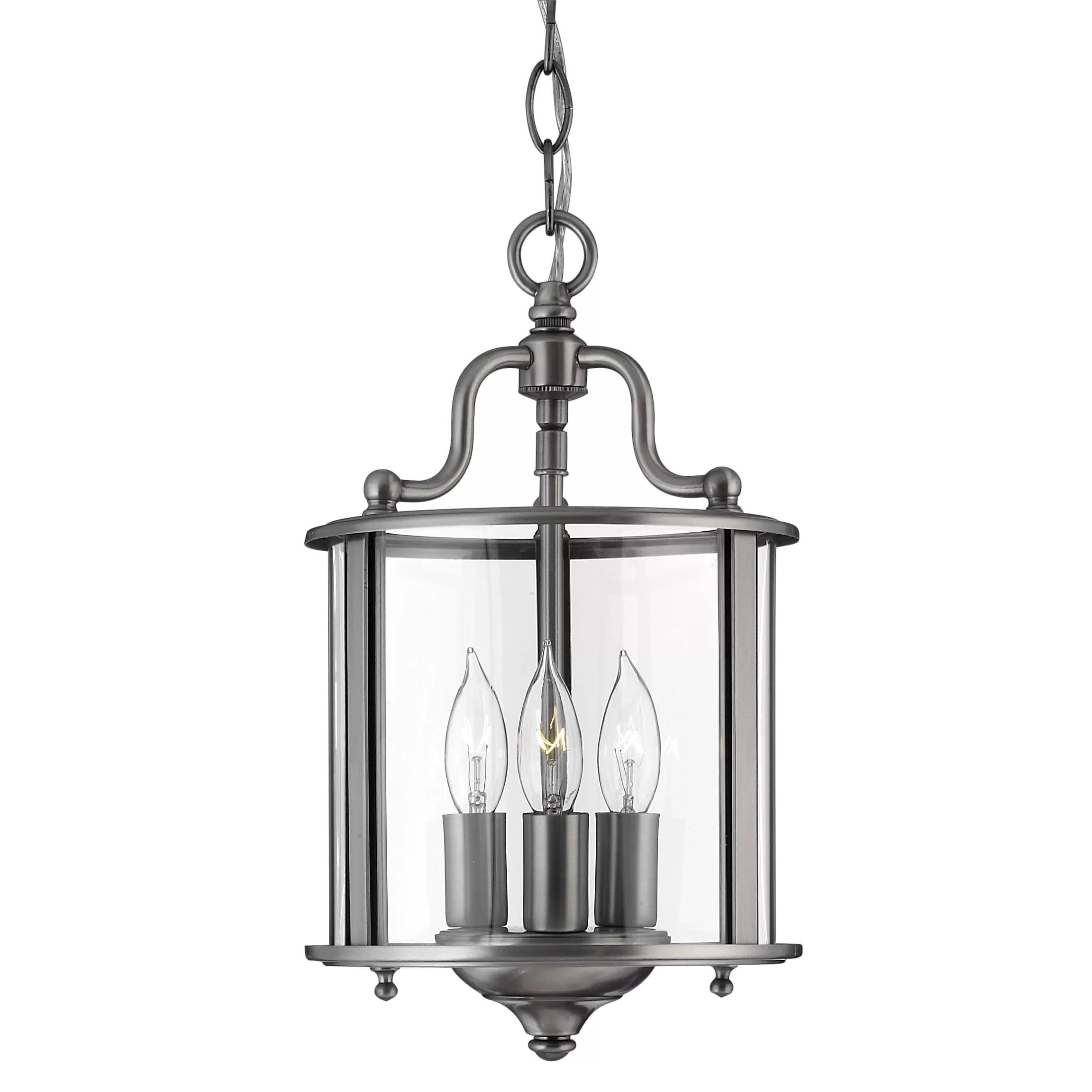Hinkley Lighting Gentry 3 Light Foyer Pendant & Reviews