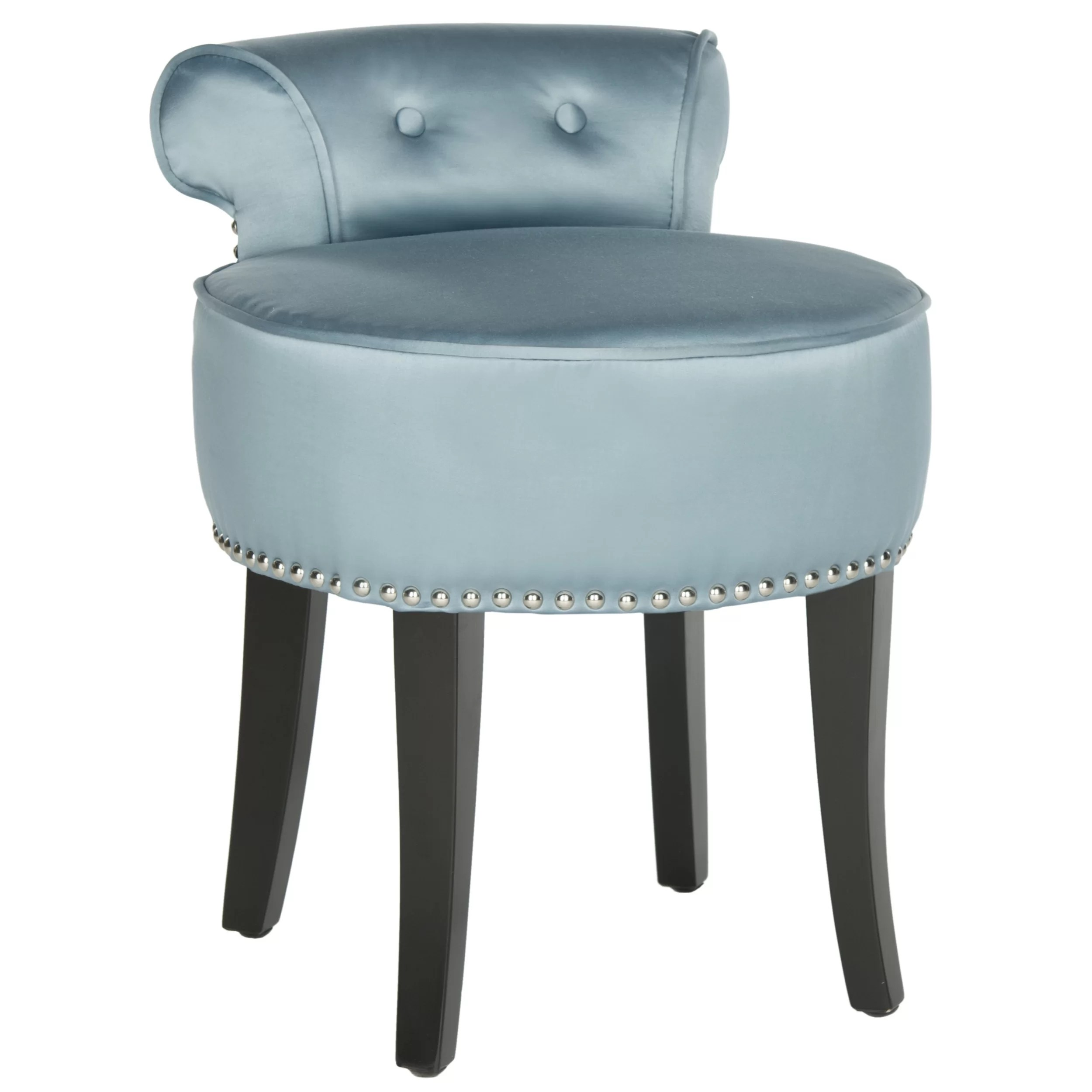 Vanity Chair Safavieh Georgia Vanity Stool And Reviews Wayfair