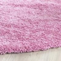 Safavieh Shag Pink Indoor Area Rug & Reviews   Wayfair