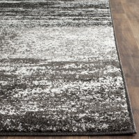 Safavieh Adirondack Black, Silver/White Area Rug & Reviews