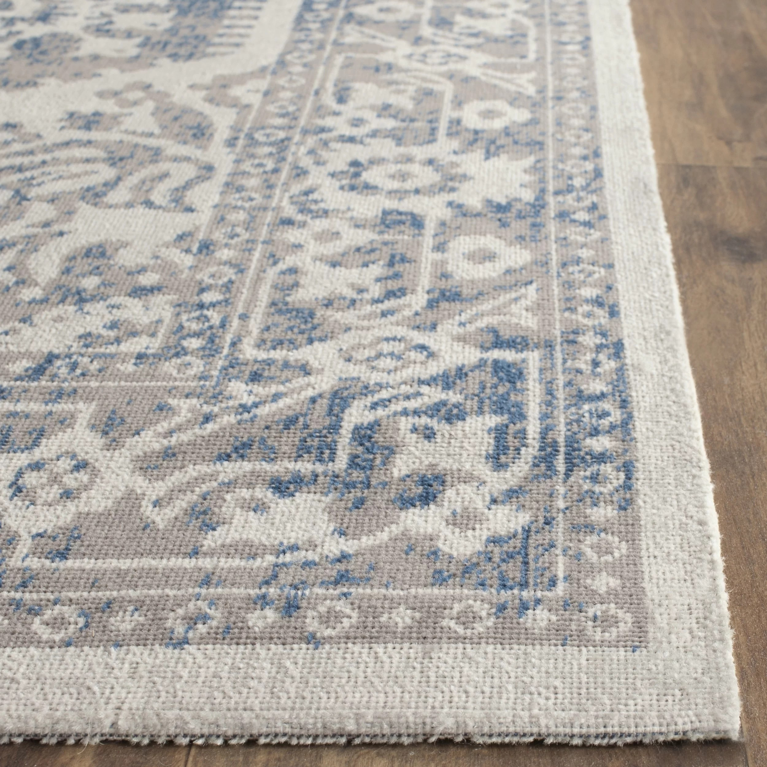 Safavieh Patina GrayBlue Area Rug  Reviews  Wayfair