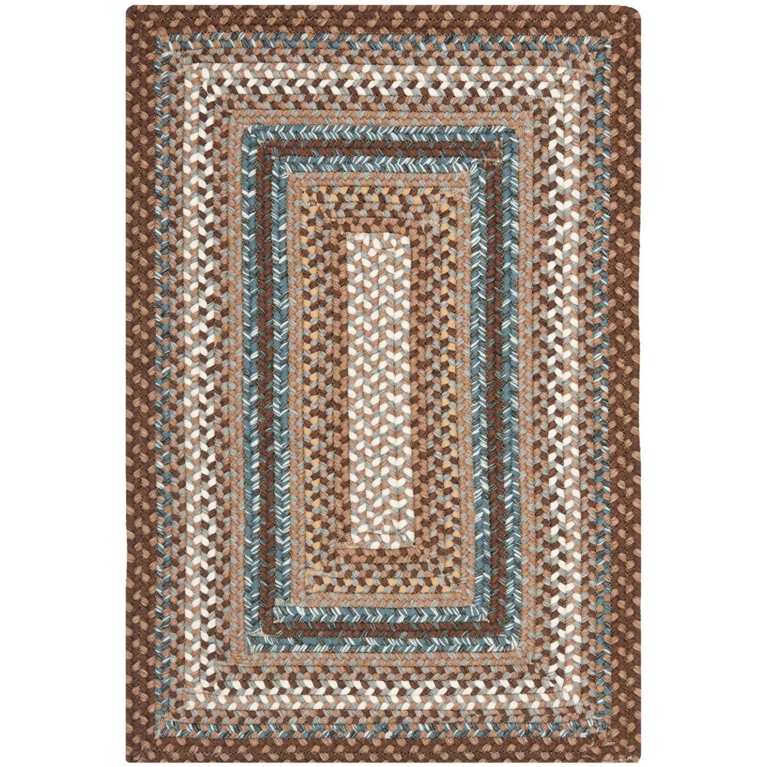 braided kitchen rugs best soap dispenser safavieh brown area rug and reviews wayfair