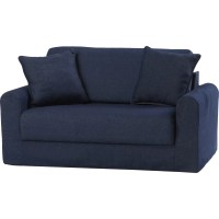 Fun Furnishings Children's Suede Sofa Sleeper & Reviews