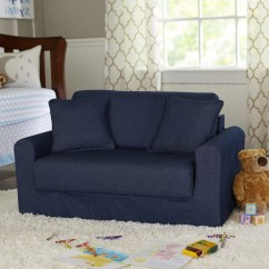 Child Sleeper Sofa Blue Velvet Images Fun Furnishings Children 39s Suede And Reviews