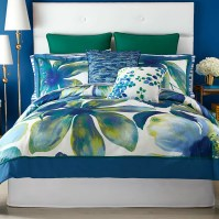 Christian Siriano Watercolor Bloom 3 Piece Comforter Set ...
